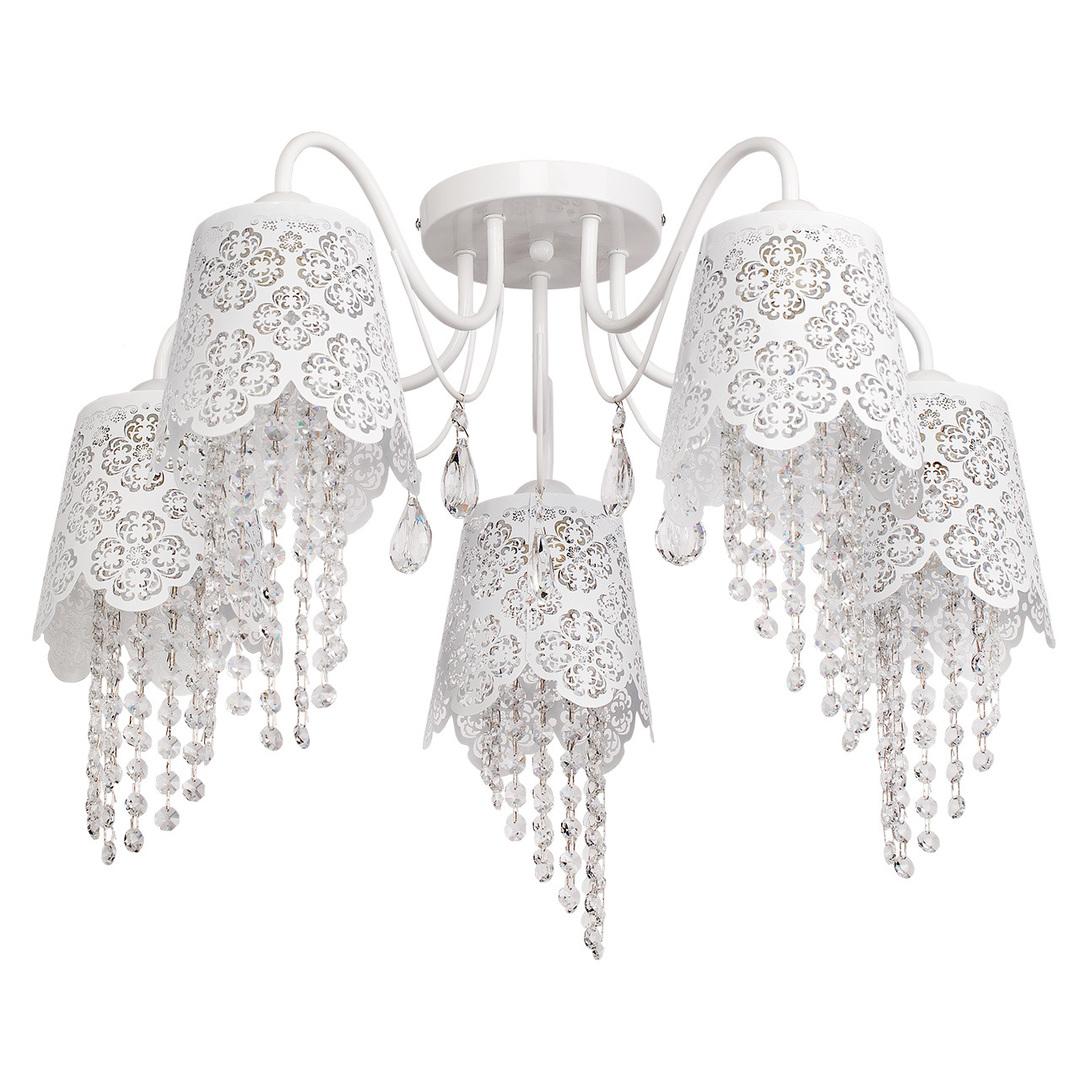 Lampa wisząca Pauline Elegance 5 Biały - 472010405
