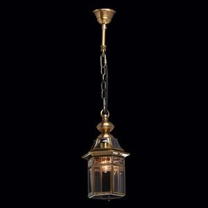 Zewnętrzna lampa wisząca Corso Street 1 Mosiądz - 802010101 small 1