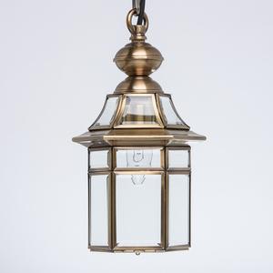 Zewnętrzna lampa wisząca Corso Street 1 Mosiądz - 802010101 small 2