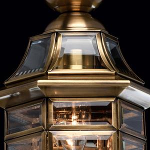 Zewnętrzna lampa wisząca Corso Street 1 Mosiądz - 802010101 small 7