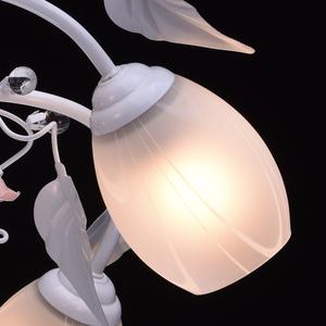 Lampa wisząca Provence Flora 5 Biały - 422010405 small 5
