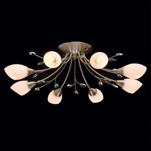 Lampa wisząca Savona Megapolis 8 Mosiądz - 356015308 small 1