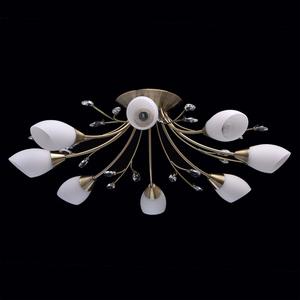Lampa wisząca Savona Megapolis 8 Mosiądz - 356015308 small 2