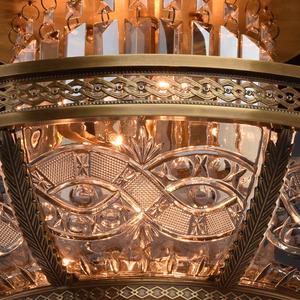Lampa wisząca Diana Crystal 8 Mosiądz - 340011308 small 4