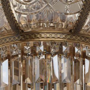 Lampa wisząca Diana Crystal 8 Mosiądz - 340011308 small 5