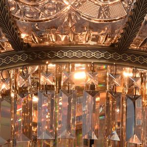 Lampa wisząca Diana Crystal 8 Mosiądz - 340011308 small 6