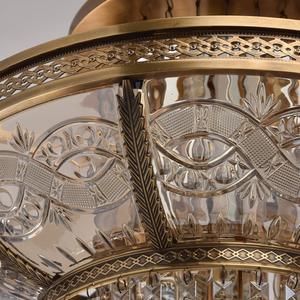 Lampa wisząca Diana Crystal 8 Mosiądz - 340011308 small 9