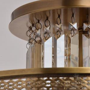 Lampa wisząca Diana Crystal 8 Mosiądz - 340011308 small 10