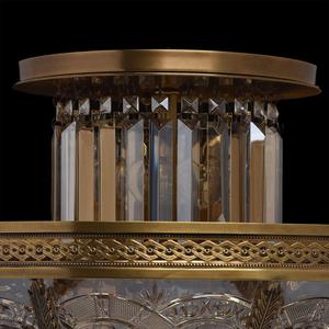 Lampa wisząca Diana Crystal 8 Mosiądz - 340011308 small 14