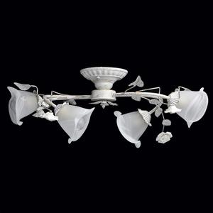 Lampa wisząca Verona Flora 4 Biały - 242014704 small 1