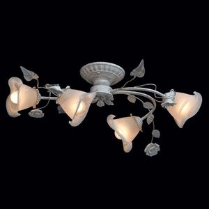 Lampa wisząca Verona Flora 4 Biały - 242014704 small 2