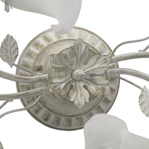 Lampa wisząca Verona Flora 4 Biały - 242014704 small 12