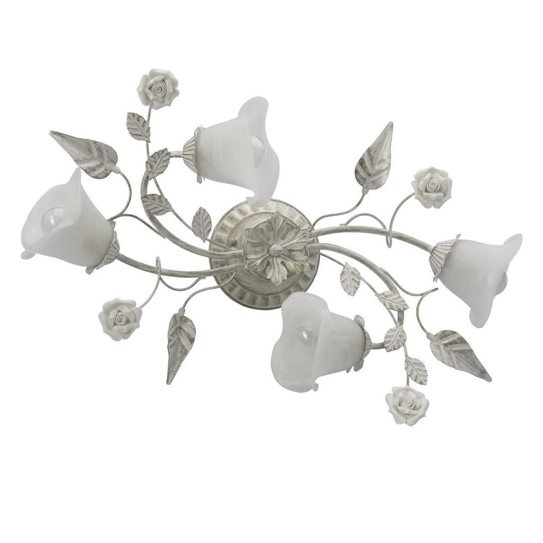 Lampa wisząca Verona Flora 4 Biały - 242014704