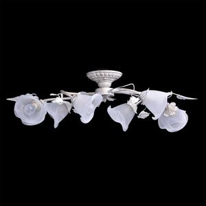 Lampa wisząca Verona Flora 6 Biały - 242014806 small 3