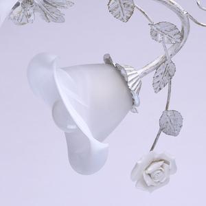 Lampa wisząca Verona Flora 6 Biały - 242014806 small 4