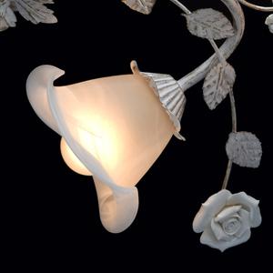 Lampa wisząca Verona Flora 6 Biały - 242014806 small 5