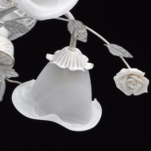 Lampa wisząca Verona Flora 6 Biały - 242014806 small 7