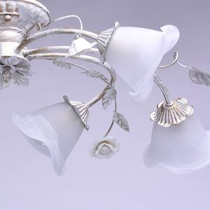Lampa wisząca Verona Flora 6 Biały - 242014806 small 8