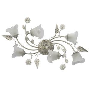 Lampa wisząca Verona Flora 6 Biały - 242014806 small 0