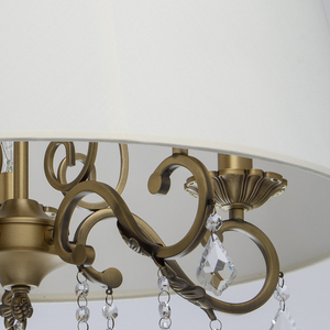 Lampa wisząca Sofia Elegance 5 Mosiądz - 355011905 small 4