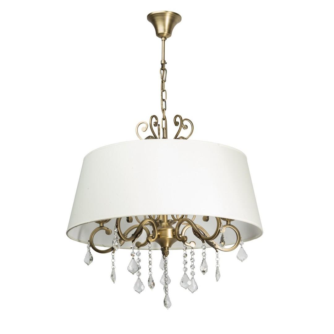 Lampa wisząca Sofia Elegance 5 Mosiądz - 355011905