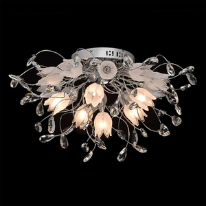 Lampa wisząca Amelia Flora 16 Chrom - 294014416 small 4