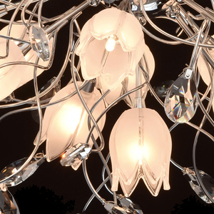 Lampa wisząca Amelia Flora 16 Chrom - 294014416 small 6