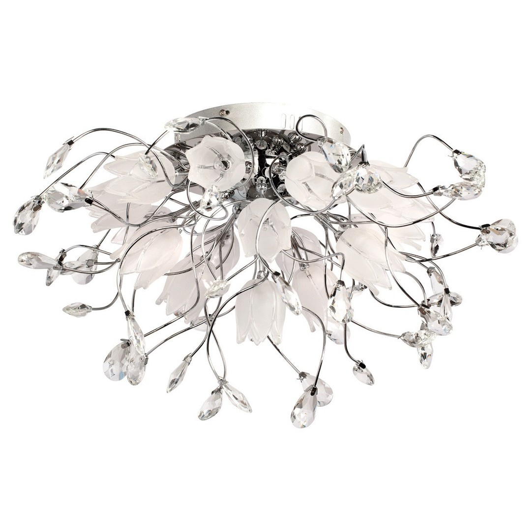 Lampa wisząca Amelia Flora 16 Chrom - 294014416