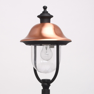 Lampa ogrodowa Dubai Street 1 Czarny - 805040501 small 2