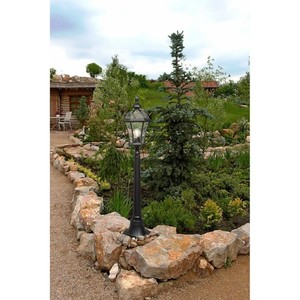 Lampa ogrodowa Sandra Street 1 Czarny - 811040501 small 1