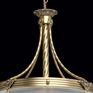 Lampa wisząca Aphrodite Classic 4 Mosiądz - 317012104 small 6