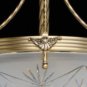 Lampa wisząca Aphrodite Classic 4 Mosiądz - 317012104 small 9