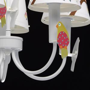 Lampa wisząca Smile Kinder 5 Biały - 365014305 small 6