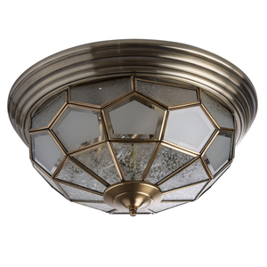 Lampa wisząca Marquis Country 6 Mosiądz - 397010506 small 0