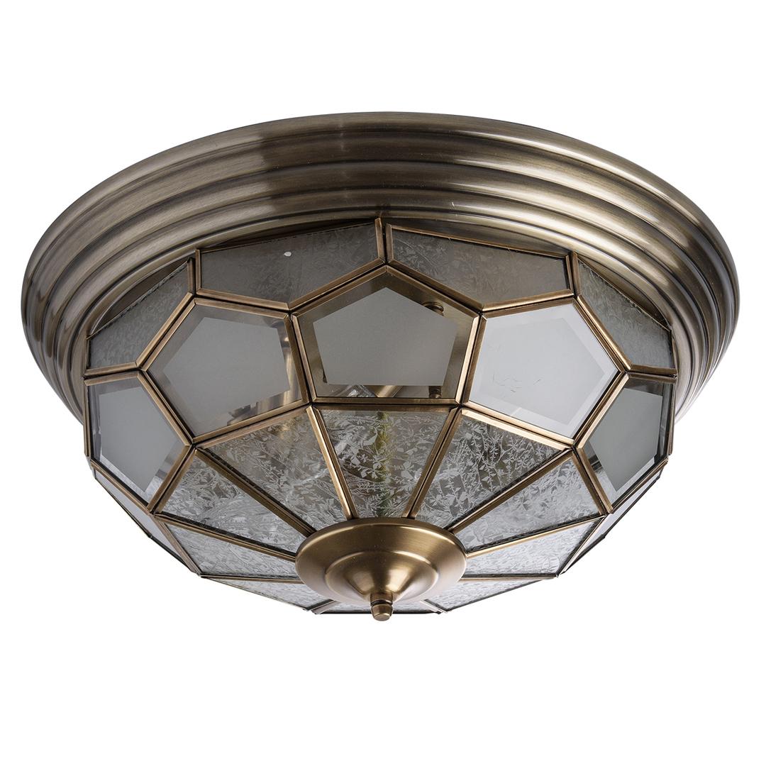 Lampa wisząca Marquis Country 6 Mosiądz - 397010506