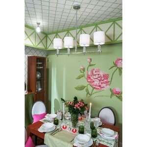 Lampa wisząca Inessa Elegance 4 Chrom - 460010604 small 13