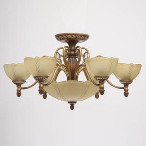 Lampa wisząca Bologna Country 9 Brązowy - 254012909 small 1