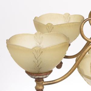 Lampa wisząca Bologna Country 9 Brązowy - 254012909 small 5