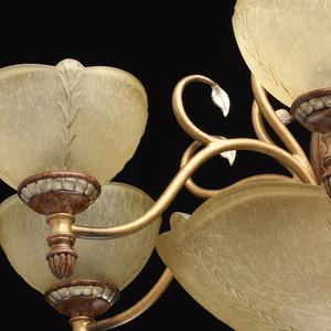 Lampa wisząca Bologna Country 9 Brązowy - 254012909 small 9