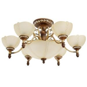 Lampa wisząca Bologna Country 9 Brązowy - 254012909 small 0
