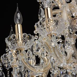 Żyrandol Odetta Crystal 10 Złoty - 405010810 small 6