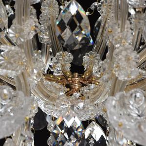 Żyrandol Odetta Crystal 10 Złoty - 405010810 small 13