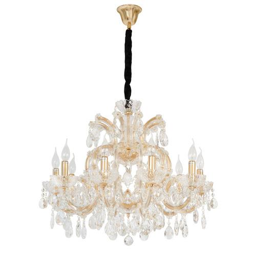 Żyrandol Odetta Crystal 10 Złoty - 405010810