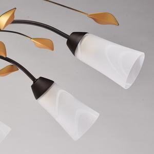 Lampa wisząca Verona Flora 10 Brązowy - 242015410 small 3