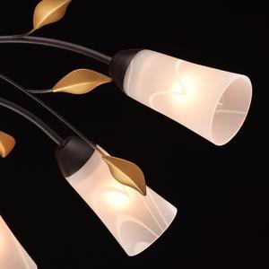Lampa wisząca Verona Flora 10 Brązowy - 242015410 small 4
