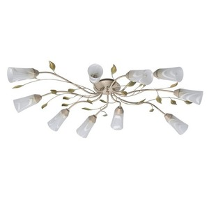 Lampa wisząca Verona Flora 10 Beżowy - 242015510 small 1