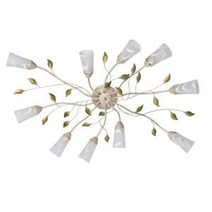 Lampa wisząca Verona Flora 10 Beżowy - 242015510 small 0