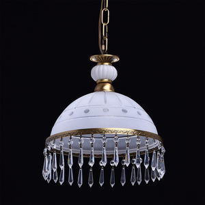Lampa wisząca Amanda Classic 1 Mosiądz - 295015201 small 1