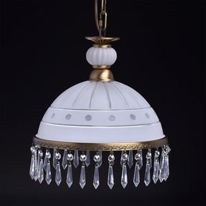 Lampa wisząca Amanda Classic 1 Mosiądz - 295015201 small 3