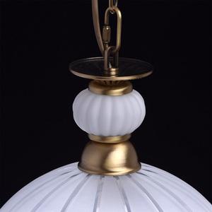 Lampa wisząca Amanda Classic 1 Mosiądz - 295015201 small 9